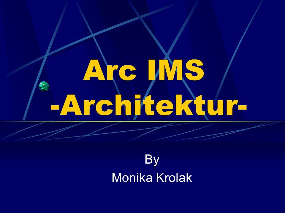 Arc IMS -Architektur- By Monika Krolak