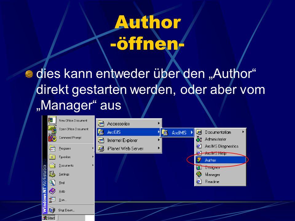 Author -image und feature- Image : erzeugt und sendet Karten zu den Web Browsern Feature : sendet shapefiles und ArcSDE Datensätze in einem komprimier