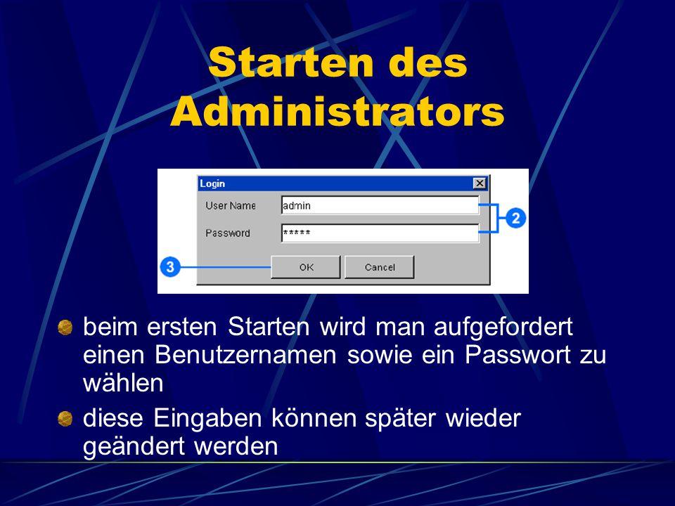 Administrator – was ist das ? Verwaltung von services, servers und folders hinzufügen, löschen und ändern