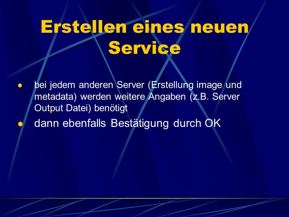 3) Eingabe eines Namens 4) link zu dem Verzeichnis, wo sich die benötigte Datei befindet 5) Auswahl eines Virtual Servers Wählt man hier Image Server1, d.h.