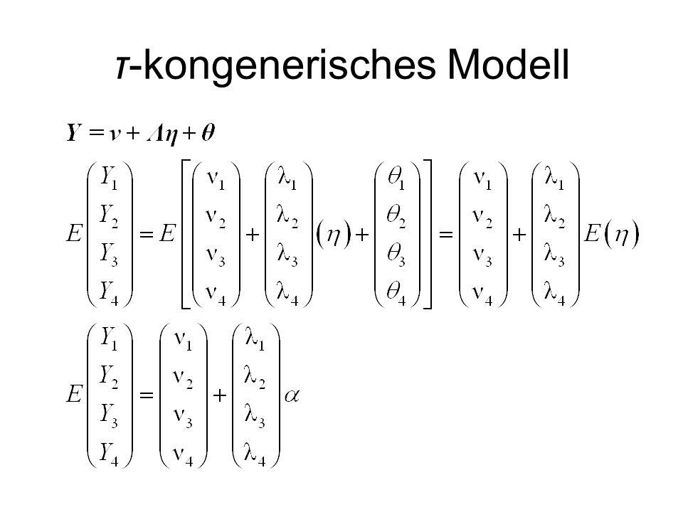 τ-kongenerisches Modell