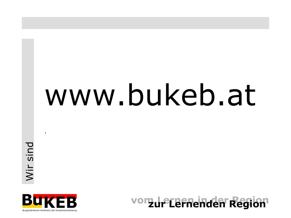 Wir sind www.bukeb.at.