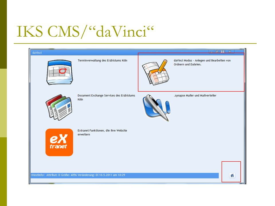 IKS CMS/ daVinci