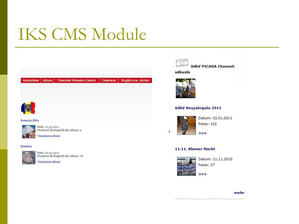 IKS CMS Module