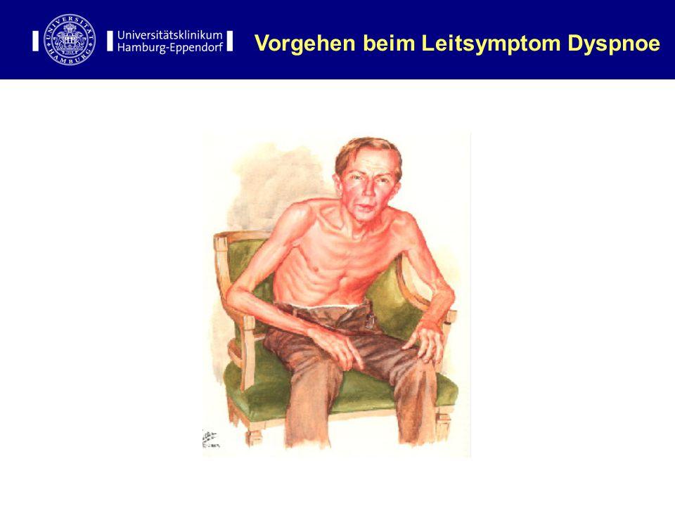 Vorgehen beim Leitsymptom Dyspnoe
