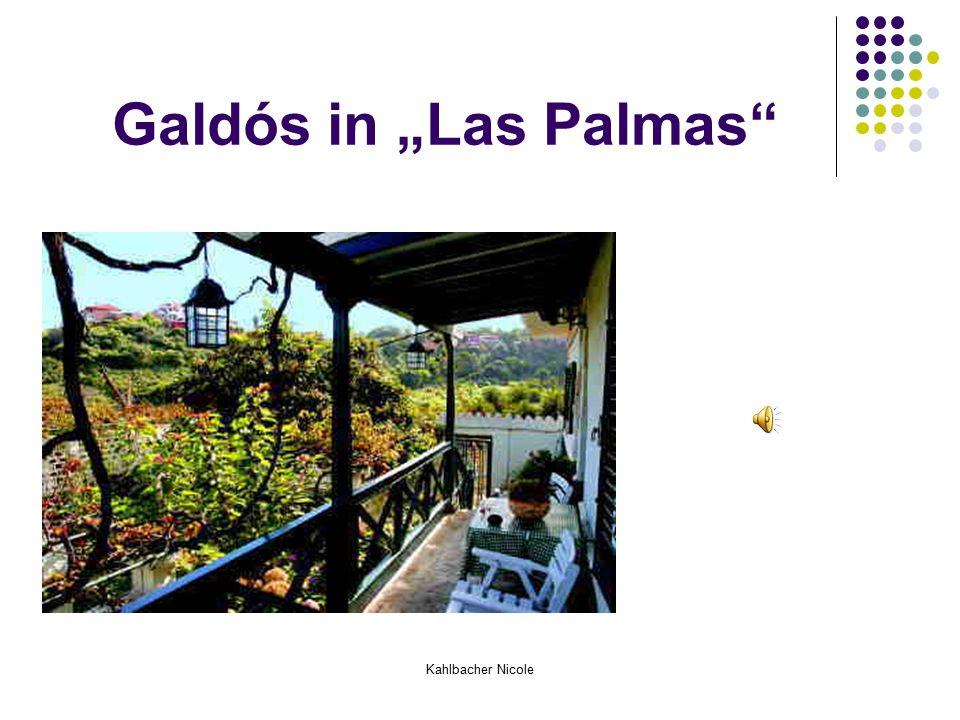 """Kahlbacher Nicole Galdós in """"Las Palmas"""""""
