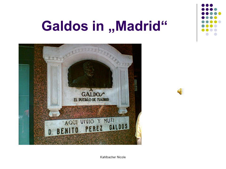 "Kahlbacher Nicole Galdos in ""Madrid"""
