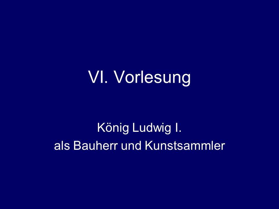 """PD Dr.Hannelore PutzVorlesung """"Bayern im Vormärz (1815-1848) Kabinettskasse Ludwigs I."""