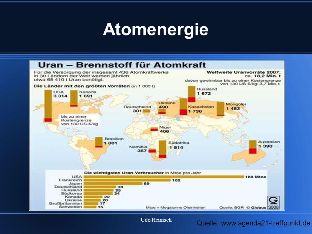 Udo Heinisch Atomenergie Quelle: www.agenda21-treffpunkt.de
