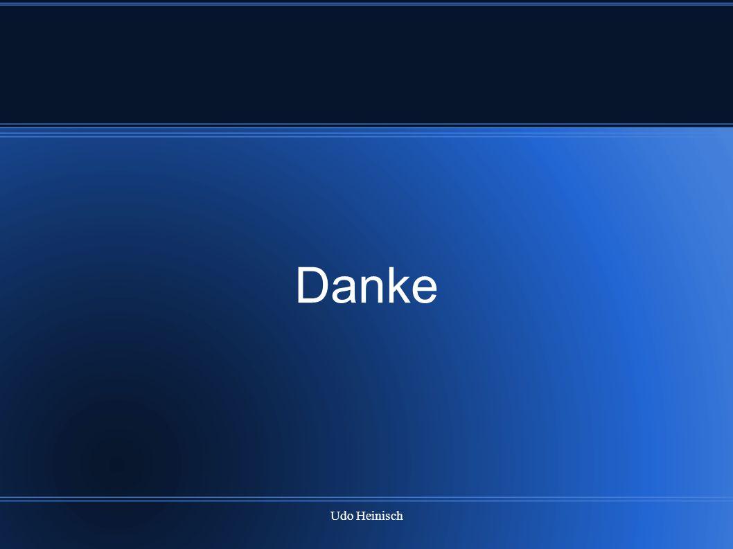 Udo Heinisch Danke