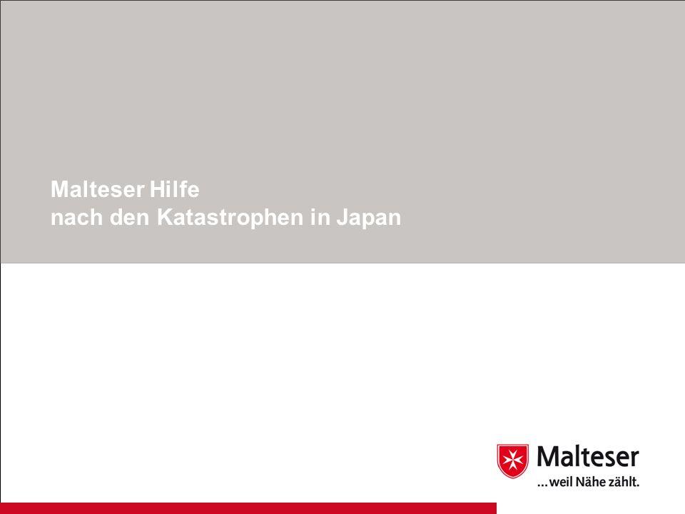 1Katastrophen Japan | Malteser Hilfsdienst e.V.