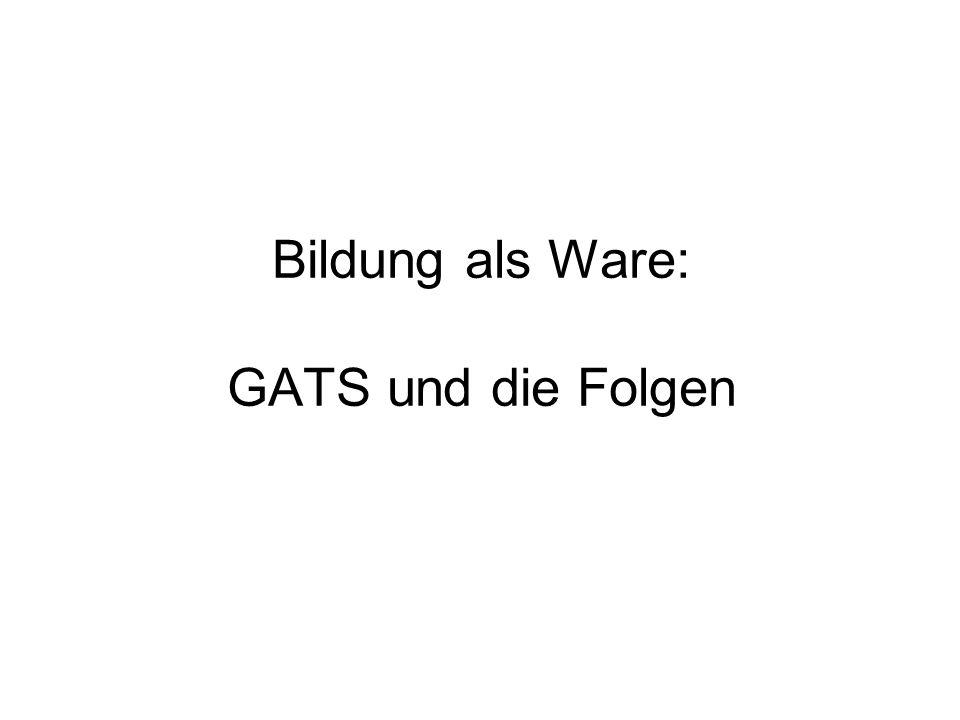 Was ist GATS.