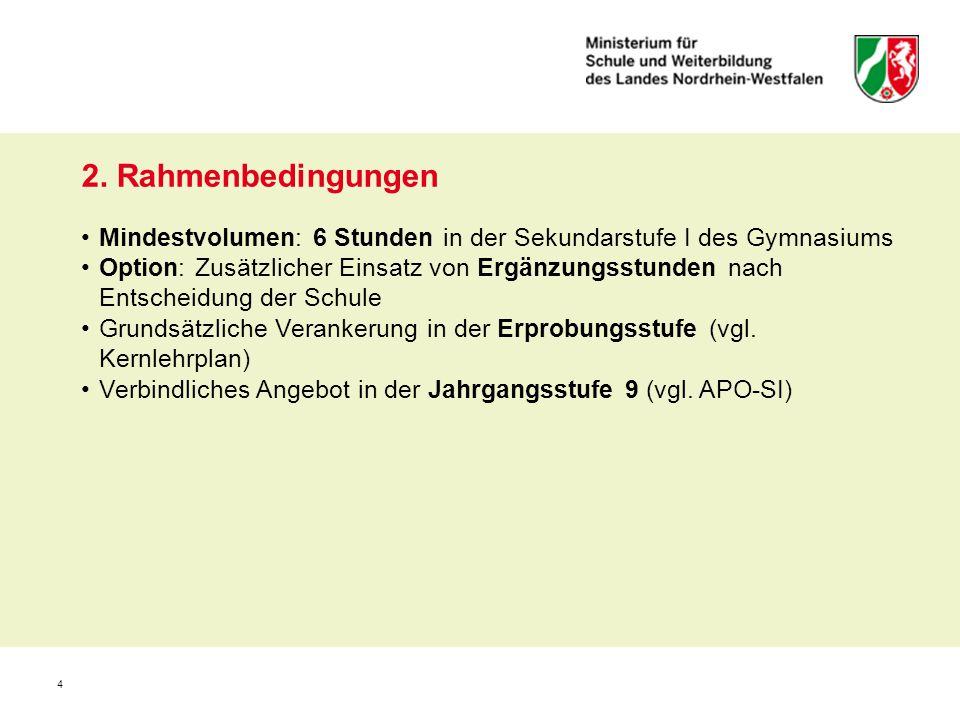 15 9.Zentrale Inhaltsfelder im Fach Erdkunde 1.