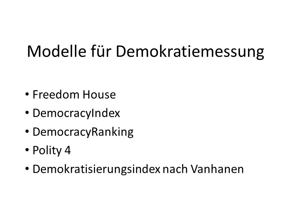Österreichs Demokratiequalität im Wandel (II)