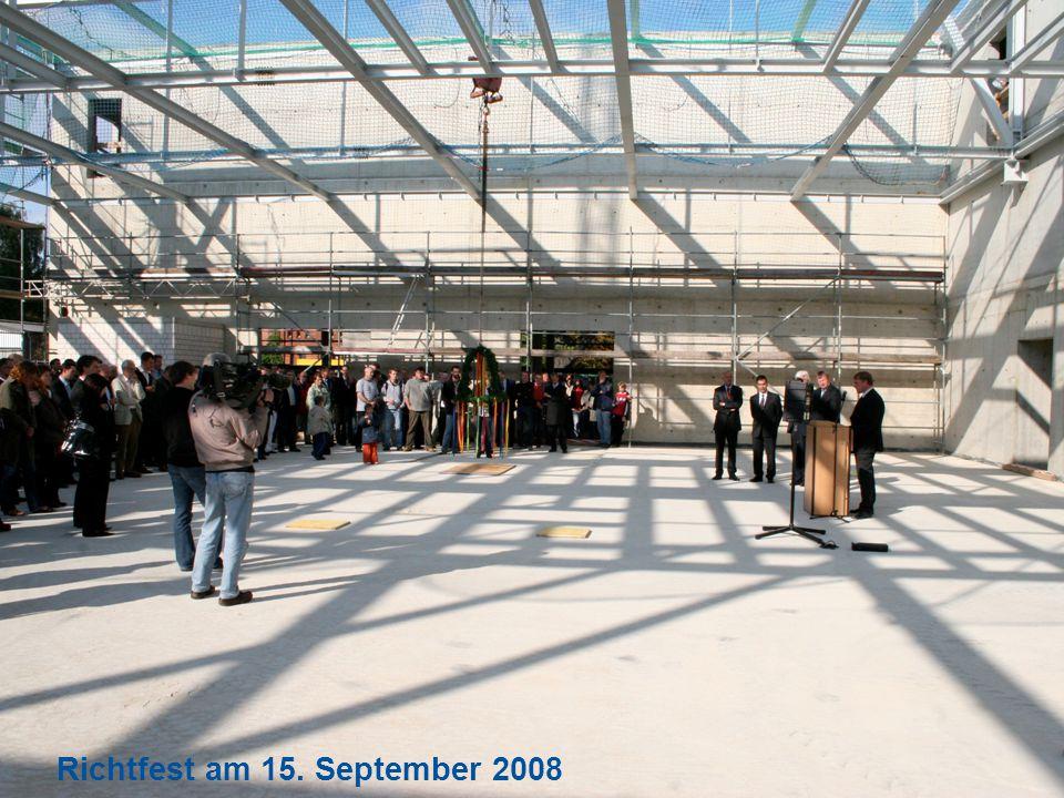 Seite 22 Richtfest am 15. September 2008