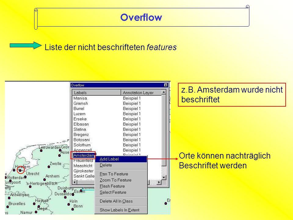 Overflow z.B.