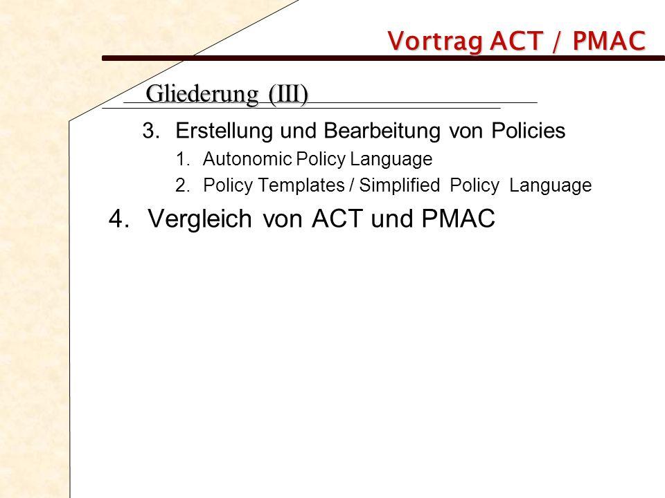Vortrag ACT / PMAC 1.