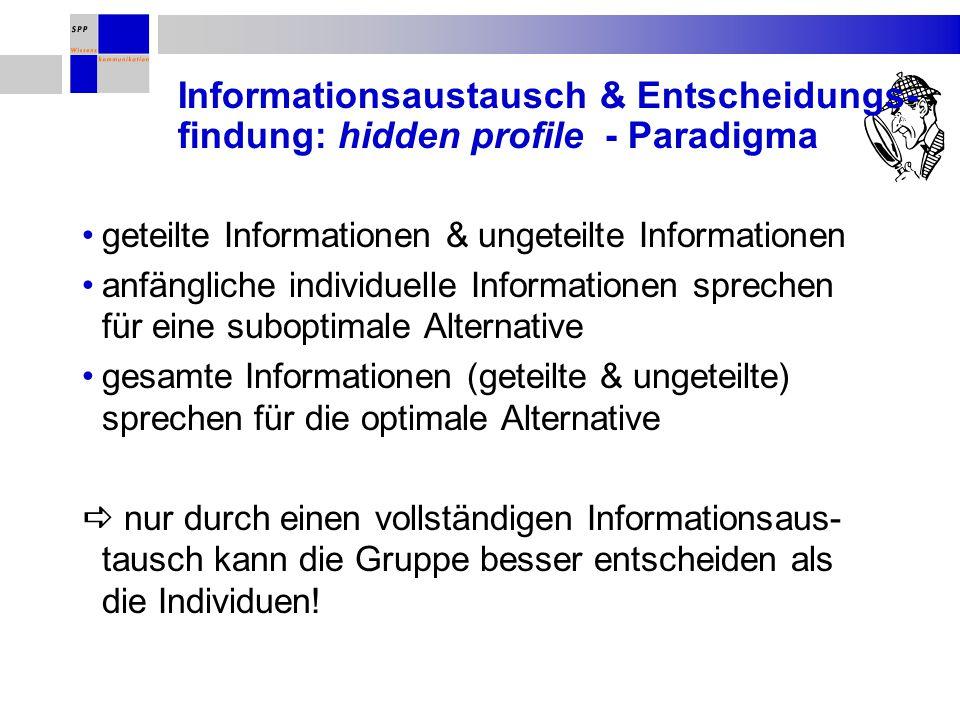 Alternative A: pos.Informationen A 1, A 2, A 3, A 4 Alternative B: pos.