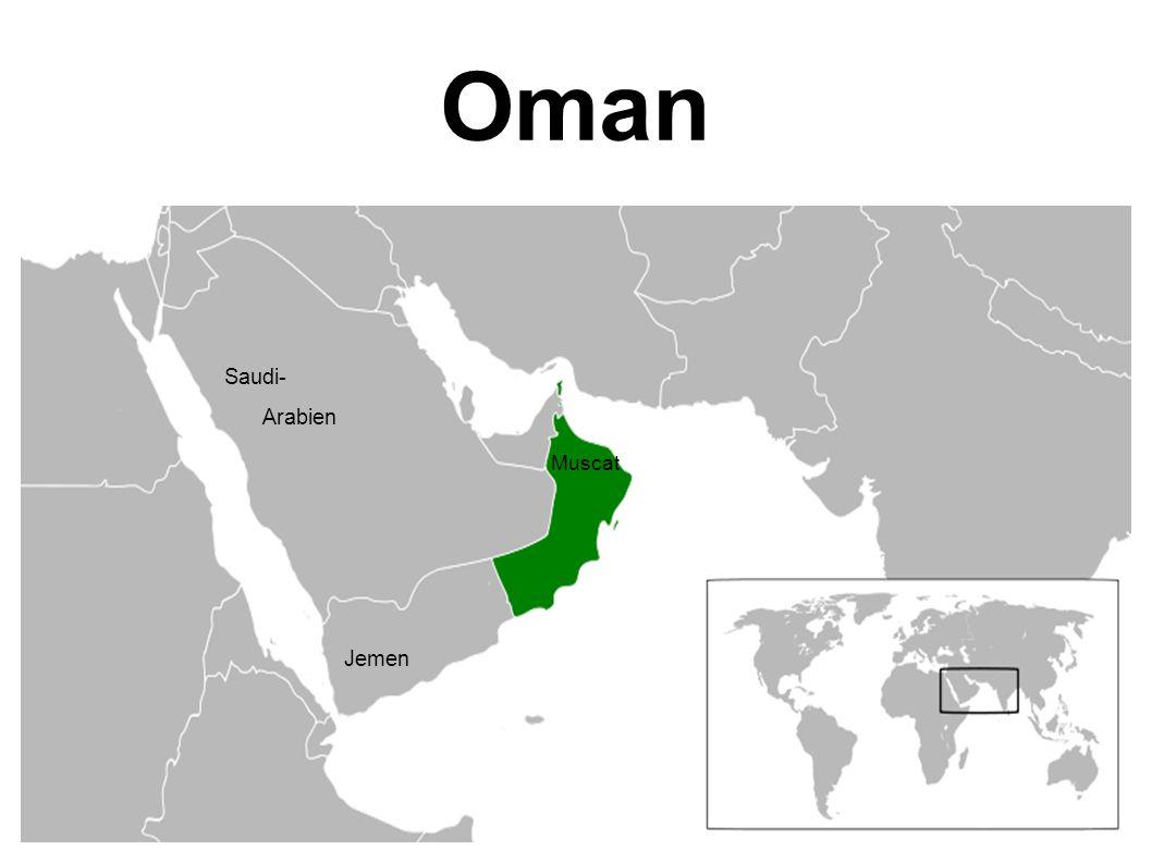 Oman Muscat Saudi- Arabien Jemen
