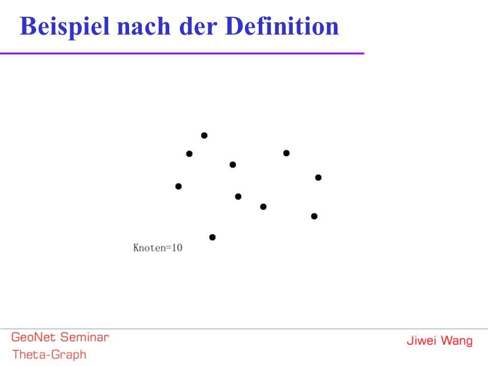 Beispiel Nach Implemetierungsalgorithmus = {e,b,a,j,d,f,h,c,i,g} = {a,c,b,d,g,e,f,h,i,j} = {i,g,h,j,c,f,d,e,b,a} KnotenKanten(Typ 1) c d b (a)bc,