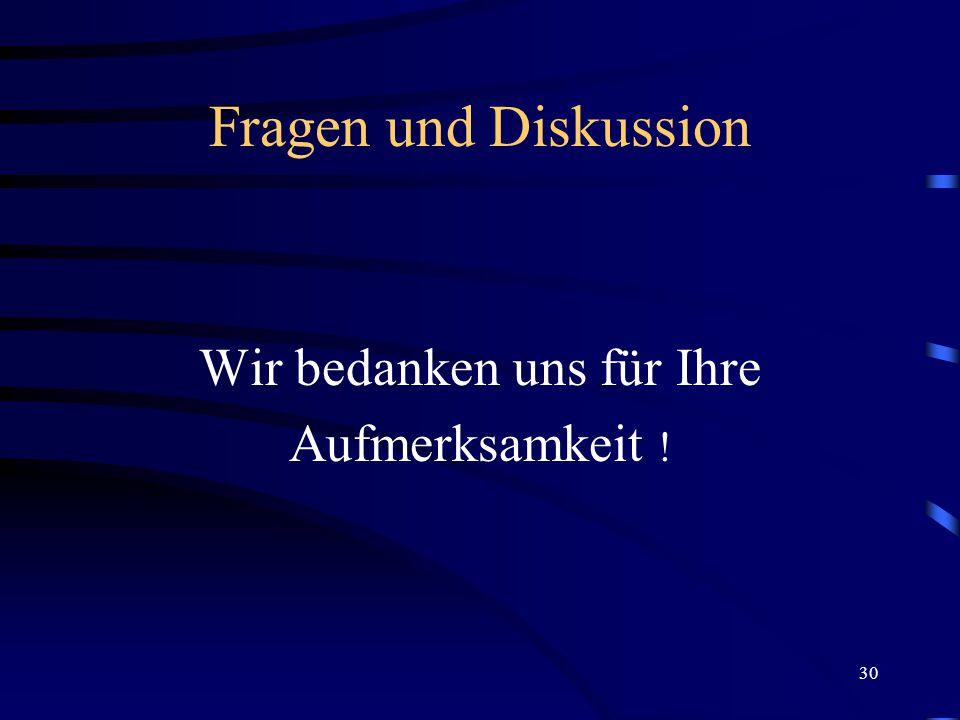 29 Infos und Kontakte Zentrale Studienberatung der Uni Paderborn Tel.: 05251-60 20 07 Prof. Dr. Leena Suhl, Tel.: 05251-60 37 22 Email: suhl@uni-pader