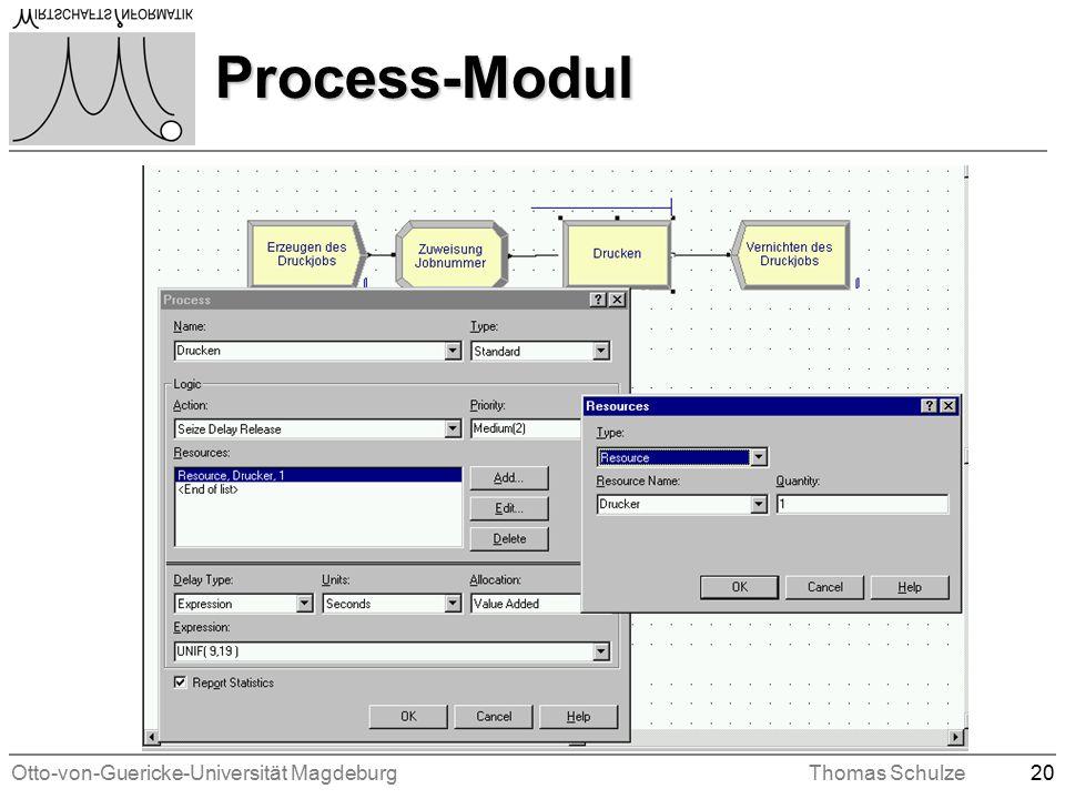 Otto-von-Guericke-Universität MagdeburgThomas Schulze20 Process-Modul