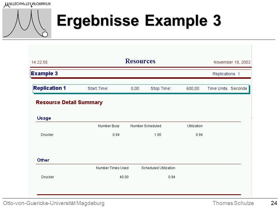 Otto-von-Guericke-Universität MagdeburgThomas Schulze24 Ergebnisse Example 3
