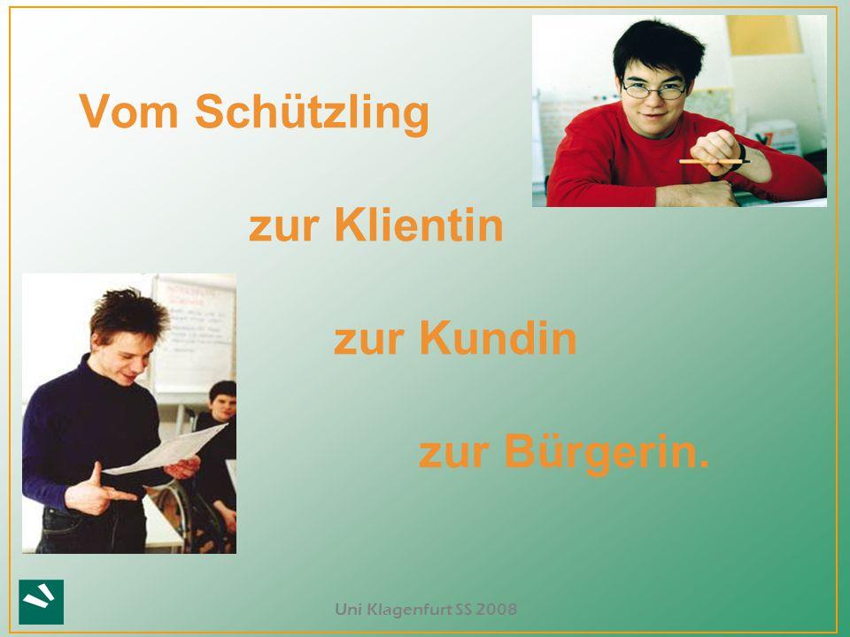 Uni Klagenfurt SS 2008 Wolf Wolfensberger PASS – Program Analysis of Service Systems PASSING – Program Analysis of Service Systems Implementation of Normalization Goals