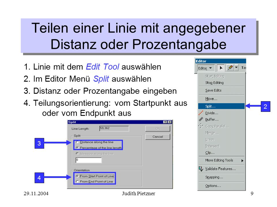 29.11.2004Judith Pietzner50 Ändern von Attributen Ändern eines Attribut-Wertes für ein Objekt: 1.