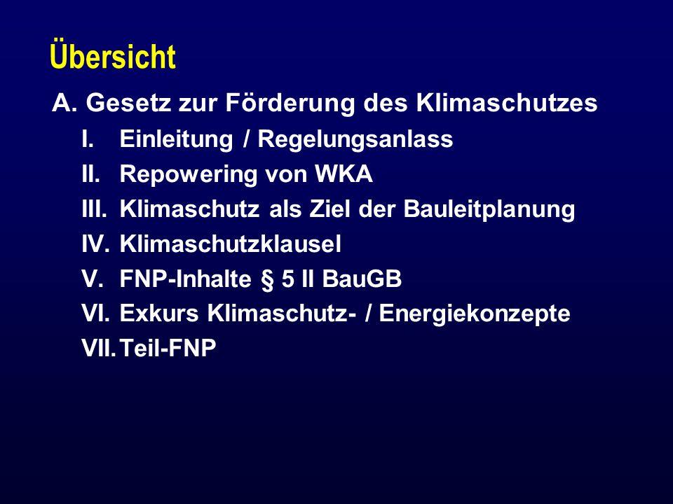 XII.Privilegierungen n Solaranlagen (Strom & Wärme) § 35 I Nr.