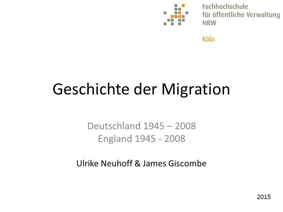 2015 Deutschland ist kein Einwanderungsland.England ist kein Einwanderungsland.