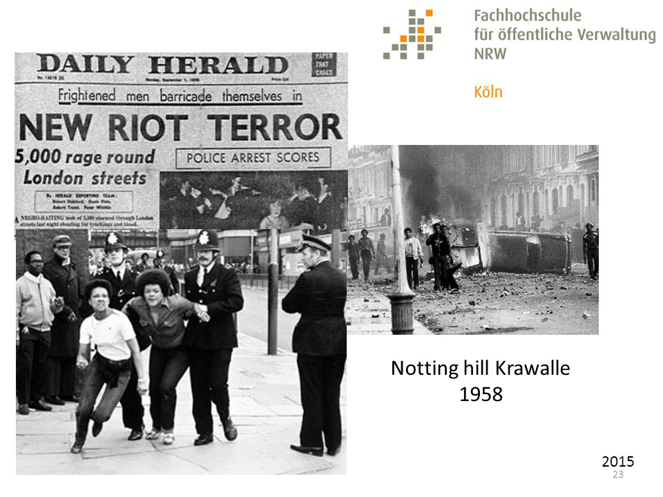 2015 23 Notting hill Krawalle 1958