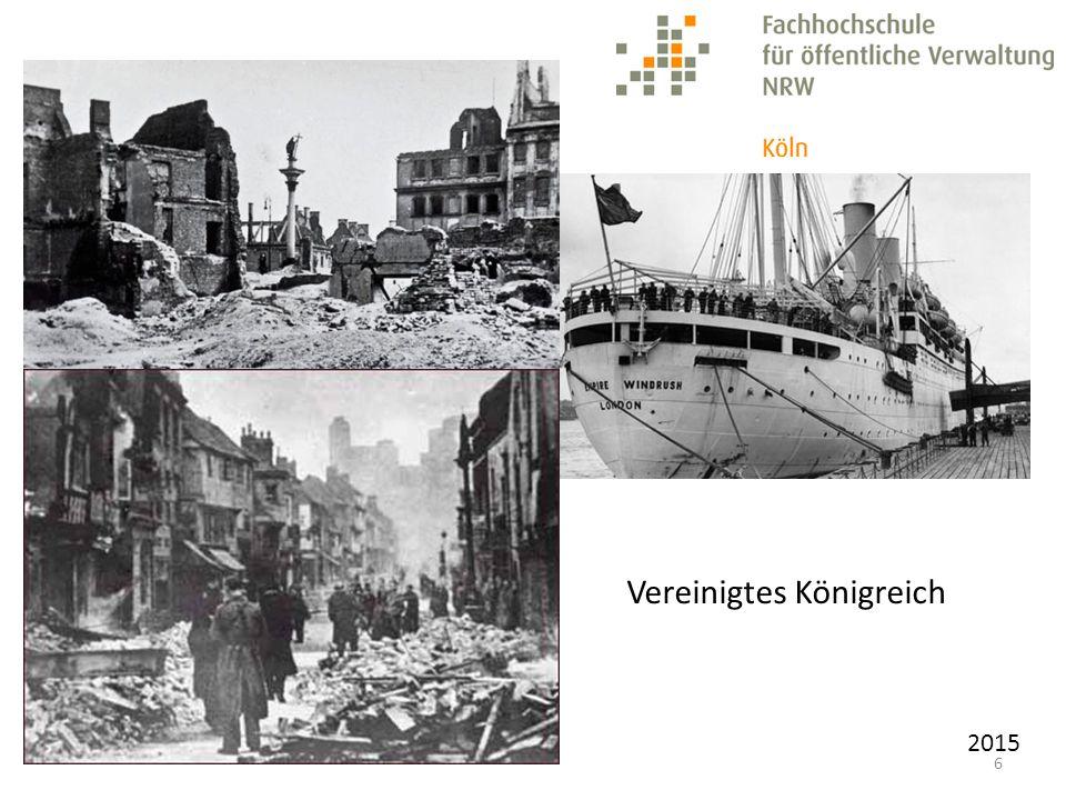 2015 1949 Gründung der beiden deutschen Staaten Bundesrepublik Deutschland Deutsche Demokratische Republik Deutschland
