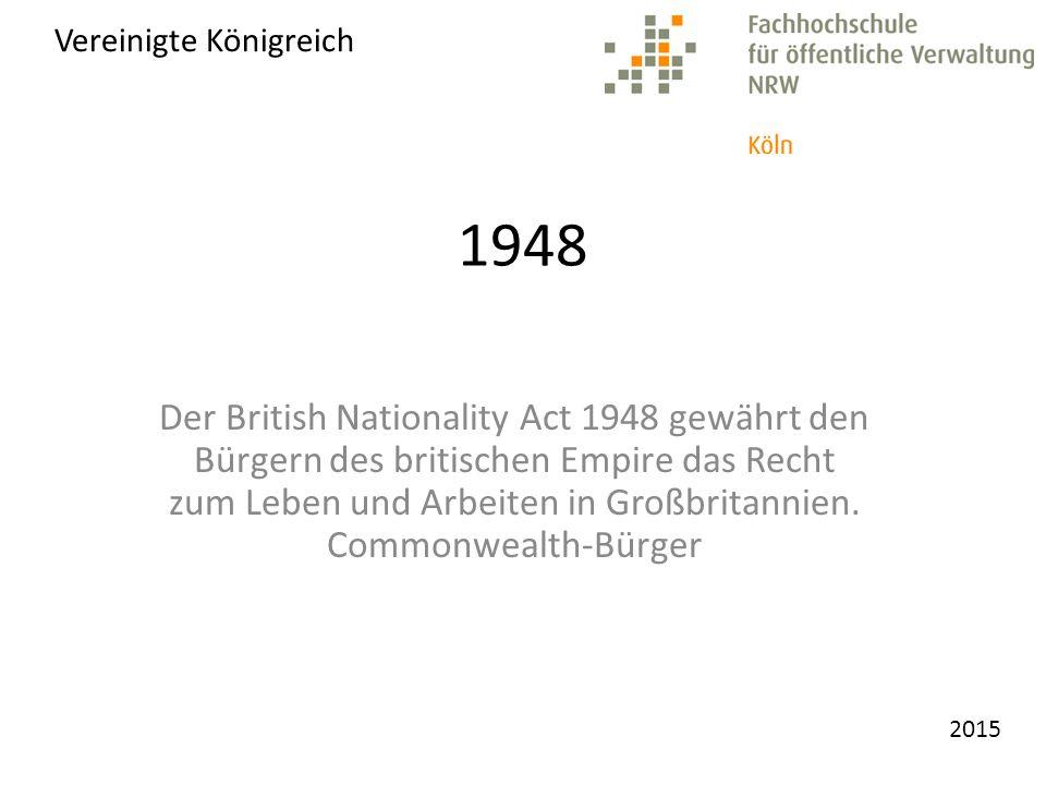 2015 Vereinigtes Königreich 1980 - 2000
