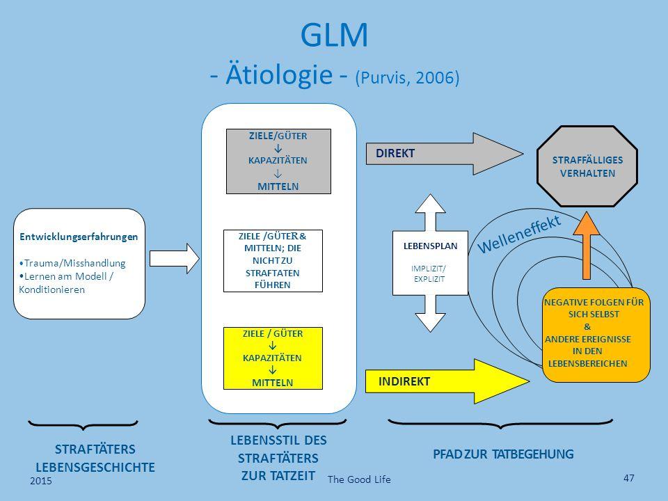 Entwicklungserfahrungen Trauma/Misshandlung Lernen am Modell / Konditionieren ZIELE /GÜTER ↓ KAPAZITÄTEN ↓ MITTELN ZIELE /GÜTE R & MITTELN; DIE NICHT