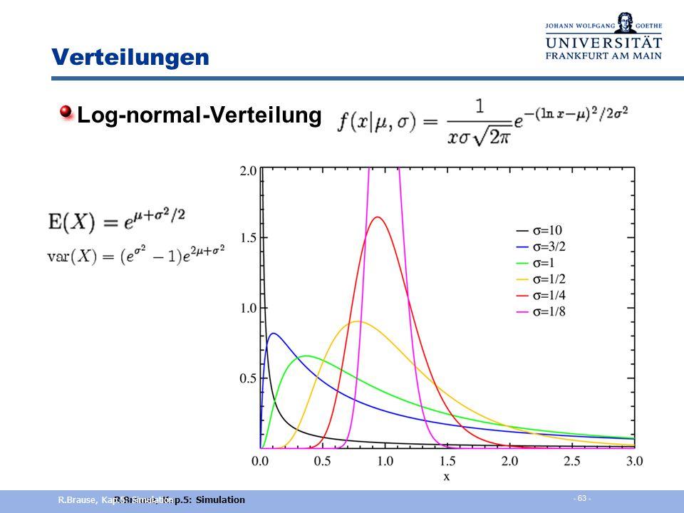Simulationsrahmen Modellierung der Eingabeverteilungen - Wie? Verteilung passt am Besten zu den gemessenen Daten Oder Annahmen entsprechen inhaltlich