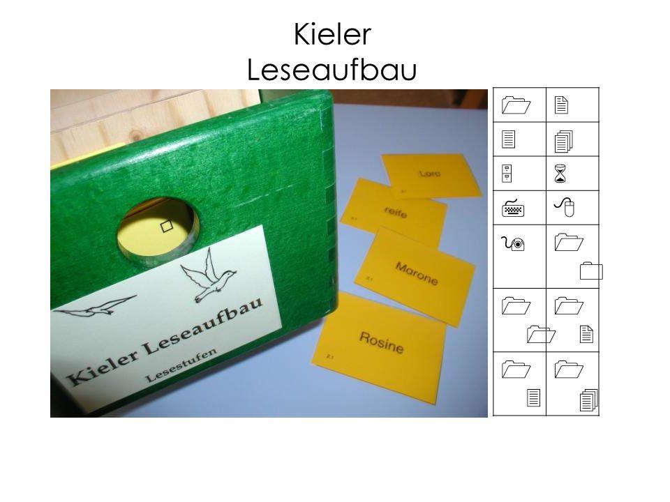 12 34 56 78 91010 1 1212 1313 1414 Kieler Leseaufbau