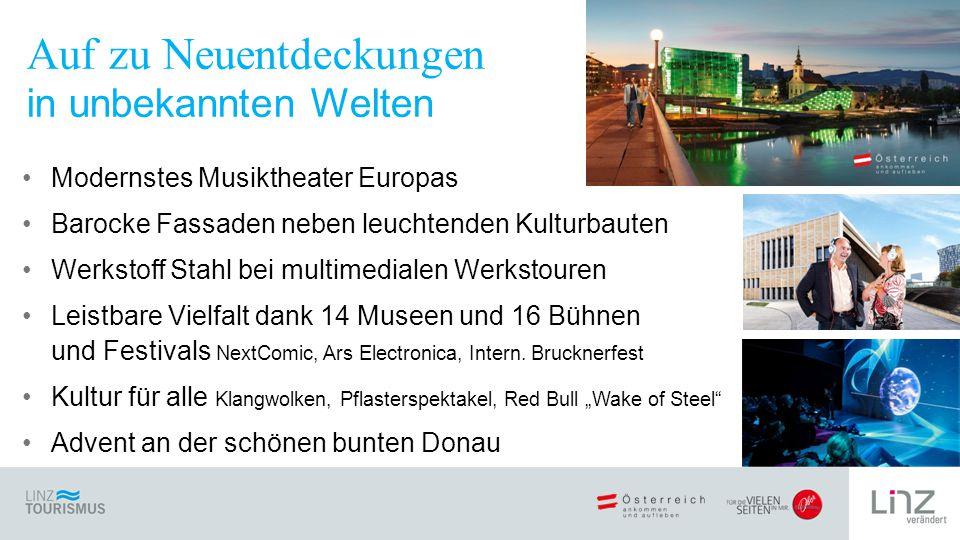 Modernstes Musiktheater Europas Barocke Fassaden neben leuchtenden Kulturbauten Werkstoff Stahl bei multimedialen Werkstouren Leistbare Vielfalt dank