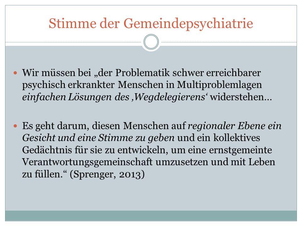 Gesetzesentwurf – (Fehl-)Wirkungen auf die Kooperation von Forensischer- und Gemeindepsychiatrie .