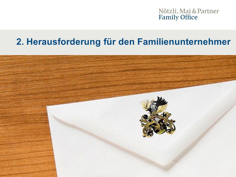 11 2. Herausforderung für den Familienunternehmer