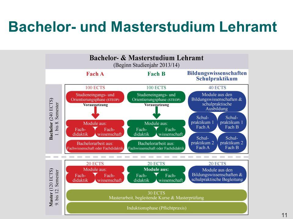 11 Bachelor- und Masterstudium Lehramt