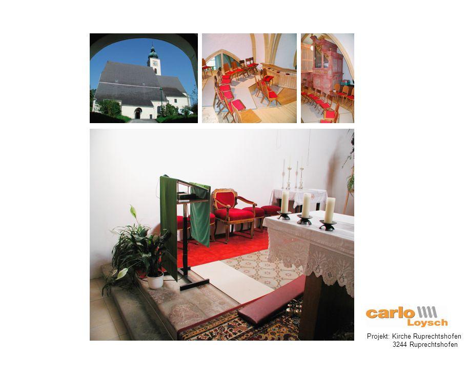 Projekt: Kirche Hüttau 5511 Hüttau