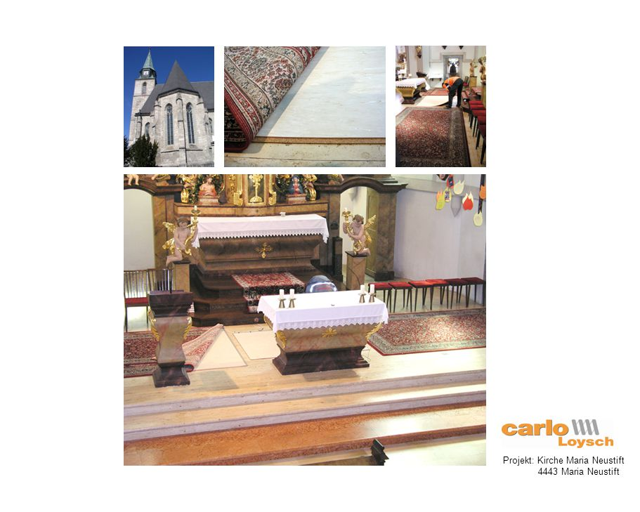 Projekt: Kirche St. Peter - Spallerhof 4020 Linz