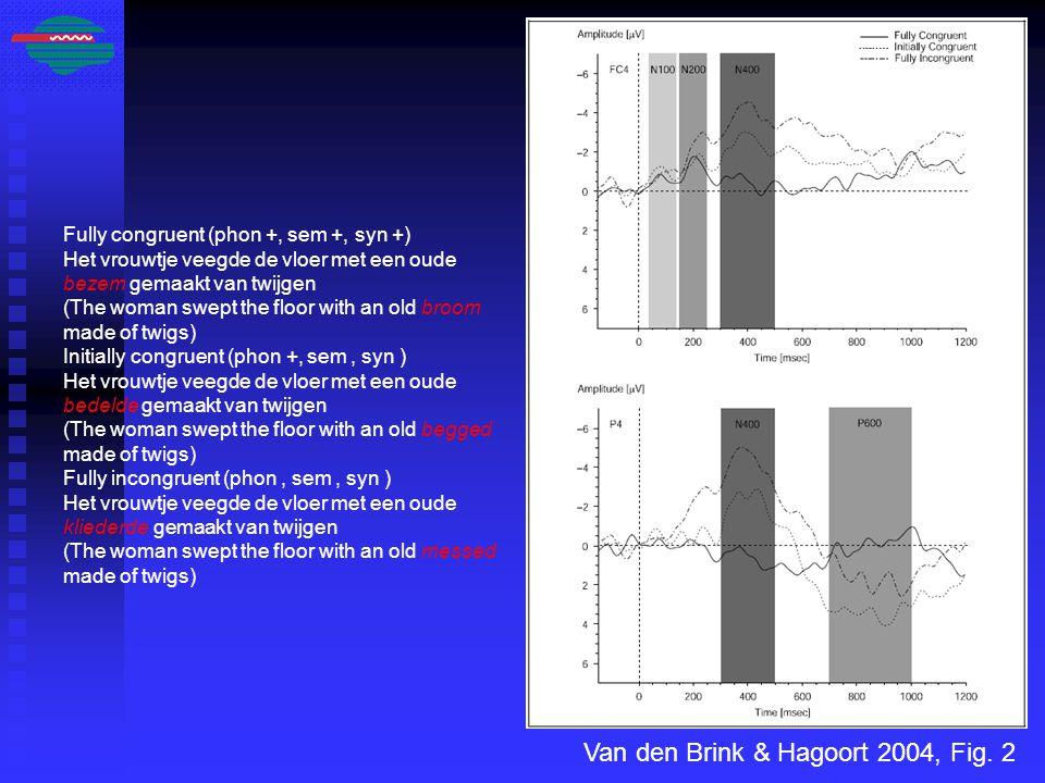 Van den Brink & Hagoort 2004, Fig.
