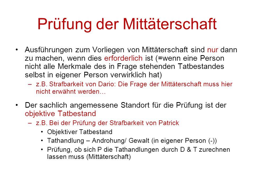 D) Mobiltelefonverträge Zwischenergebnis Thomas  Betrug, Art.