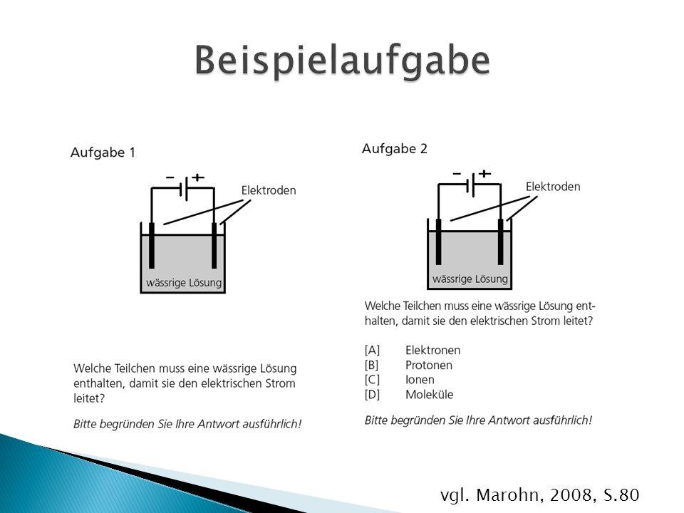 vgl. Marohn, 2008, S.80