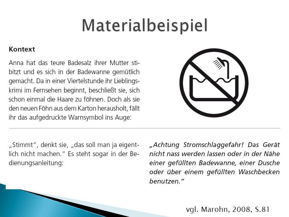 vgl. Marohn, 2008, S.81
