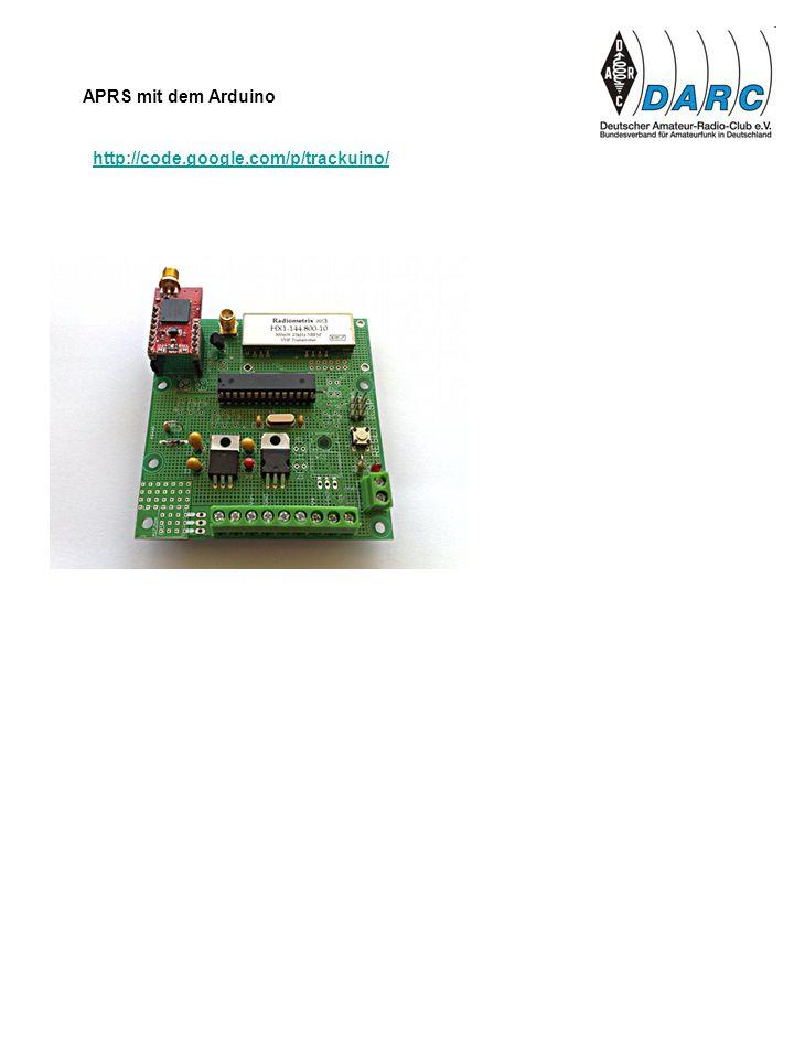http://code.google.com/p/trackuino/ APRS mit dem Arduino