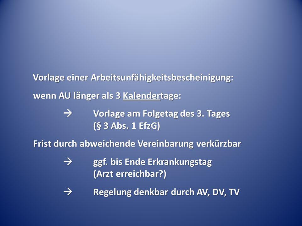 II. Betriebliches Eingliederungsmanagement (BEM)
