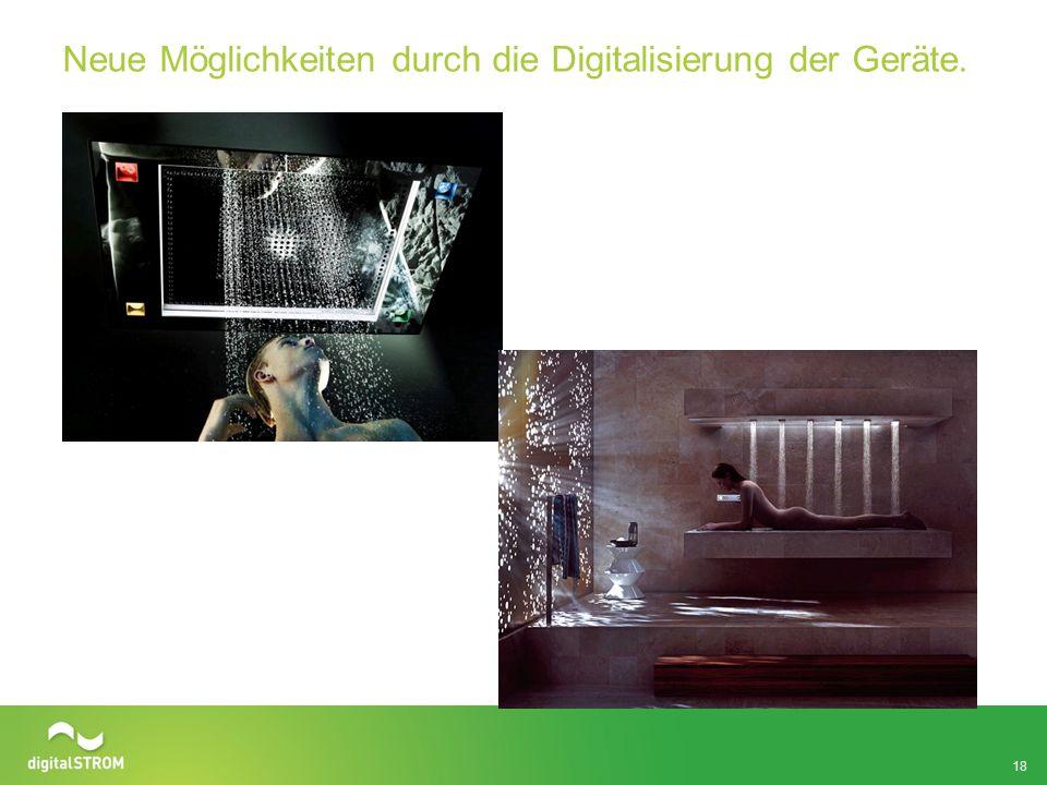 Neue Möglichkeiten durch die Digitalisierung der Geräte. 18